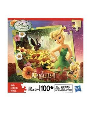 Hasbro Tinker Bell's Glow Bug Jigsaw Puzzle - 1