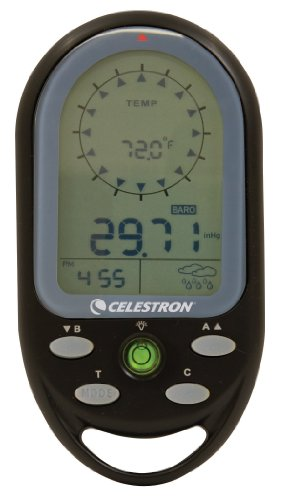 Celestron Trek Guide Digital Compass - Black