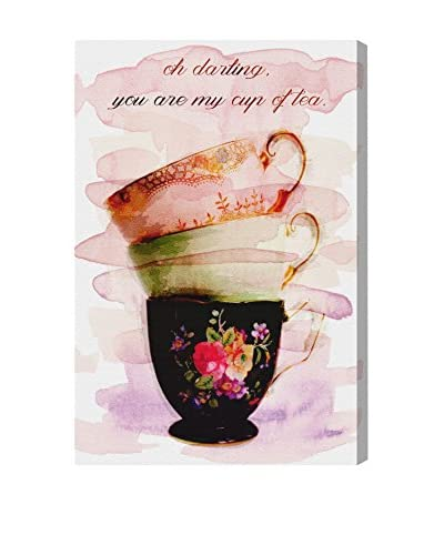Oliver Gal Artist Co. My Cup of Tea, Multi, 30 x 20