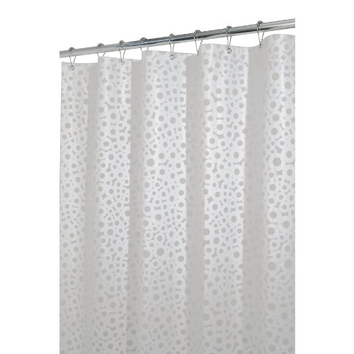 InterDesign Circo Eva 72 Inch By Shower Curtain White