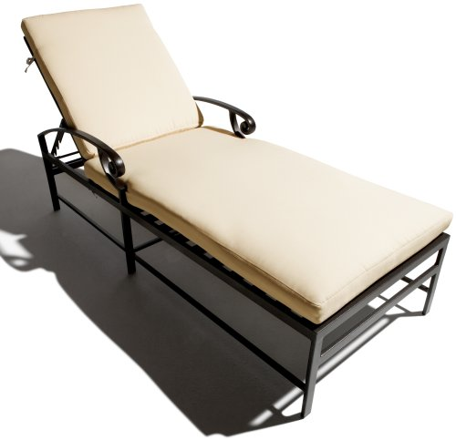 Black friday strathwood falkner chaise lounge chair cyber - Chaise black friday ...