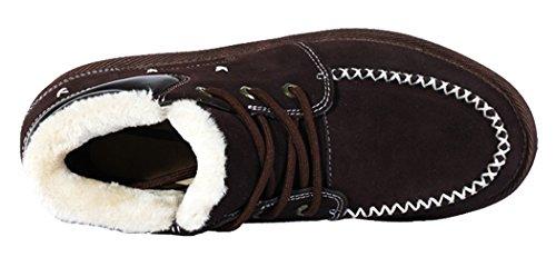 Lkpop Doozoo Men Winter Clearance Super Warm 2014 New Style Snow Boots(7 D(M) Us, Coffee)