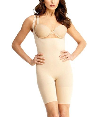 Braless Body Ultimate Slimmer indossare il tuo Reggiseno corpo coscia Shaper Nude S