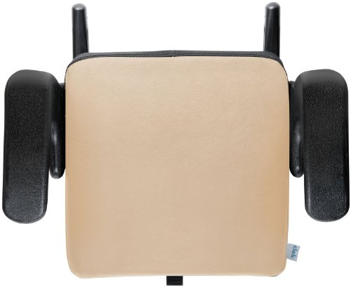 Clek Olli Special Edition Backless Booster Seat, Leather Paige/Tan front-192603