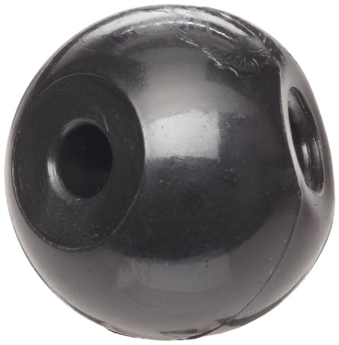 Molecular Models Black Plastic Tetrahedral Carbon Atom Center, 23mm Diameter (Pack of 25)