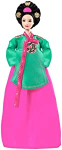 Dolls of the World: Princess of the Korean Court Barbie Mattel