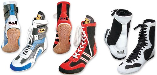 MAR Boxing Shoes (Anti Slipping Rubber Sole)