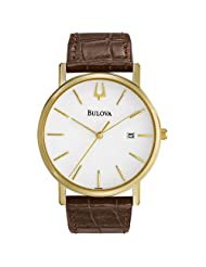 Bulova 97B100 Strap White Watch