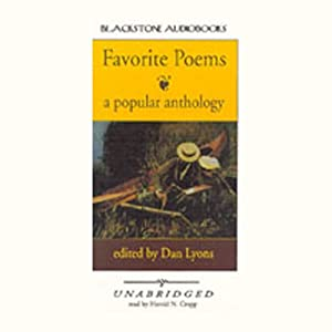 Favorite Poems Audiobook