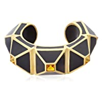 [アイシャーヤ] Isharya black pyramid luxe statement cuff バングル C1210-02-016-S
