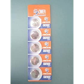 【クリックで詳細表示】【ロワジャパン】【5個入】CR2032 DL2032 ECR2032 KECR2032-1 SB-T51 コイン形 リチウム ボタン 電池: 家電・カメラ