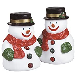 Click to read our review of Musical Christmas Lights: Set of 2 Wobbly Snowman Lighted & Musical 11