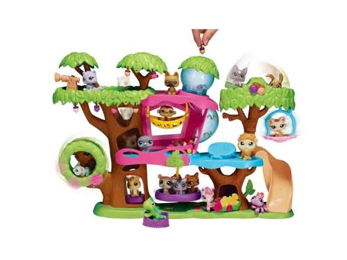 Hasbro Littlest Pet Shop Treehouse Playset