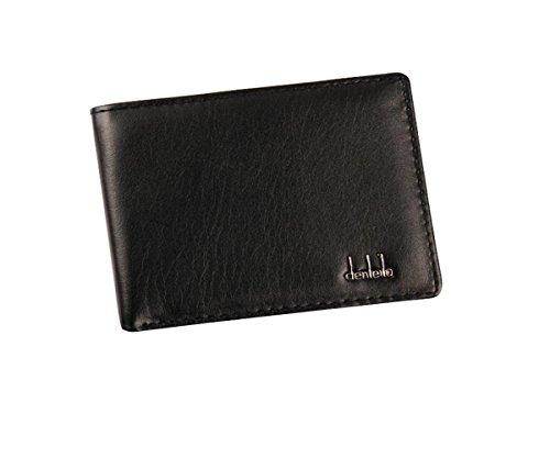 Lovelyu Hommes Bifold Business cuir portefeuille ID carte de crédit porte sac à main poches