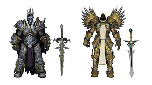 Heroes of the Storm Arthas & Tyrael- 7 Scale Action Figures - Series 2 Set by Heroes of the Storm