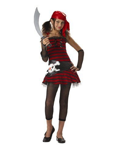 California Costume Collection Girls' Pirate Cutie Tween Costume