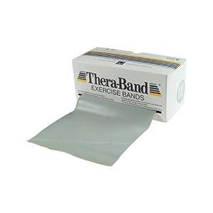 Thera-Band Übungsband 5,5 m , super stark/silber