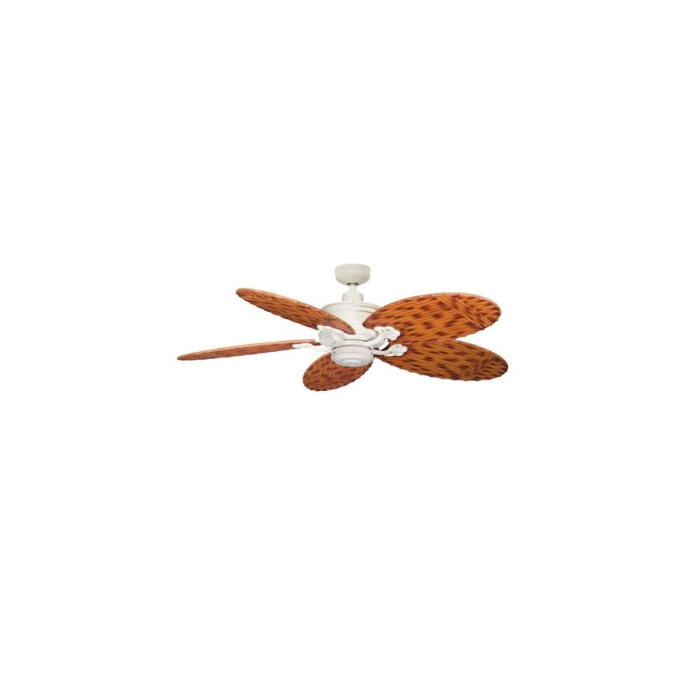 Crystal Bay 52 Ceiling Fan Body in Satin Natural White