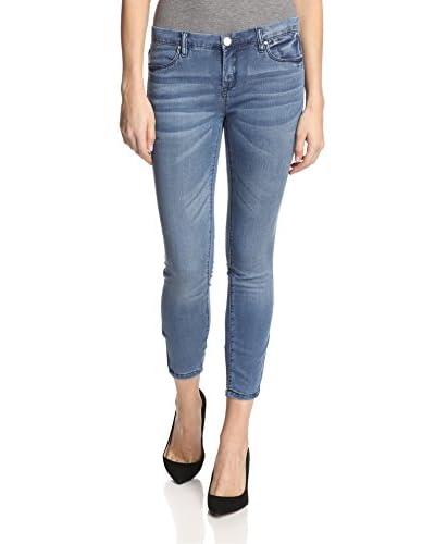 BLANKNYC Women's Crop with Zippers Jean