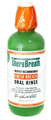 Dr. Katz TheraBreath Oral Rinse, 16-Ounce Bottles