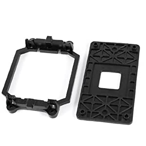 Black Plastic AMD CPU Fan Stand Bracket Base for AM2 AM3 Socket