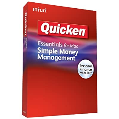 Quicken money management software