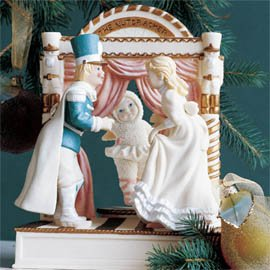 Department 56 Snowbabies Dance of the Sugar Plum Fairy Animated Music Box 2002