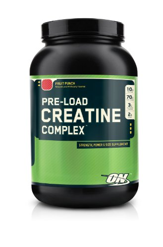 Optimum Nutrition Pre-Load Creatine Complex, Fruit Punch, 4 Pound