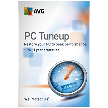 AVG PC TuneUp 1 user, 1 Year License (PC)
