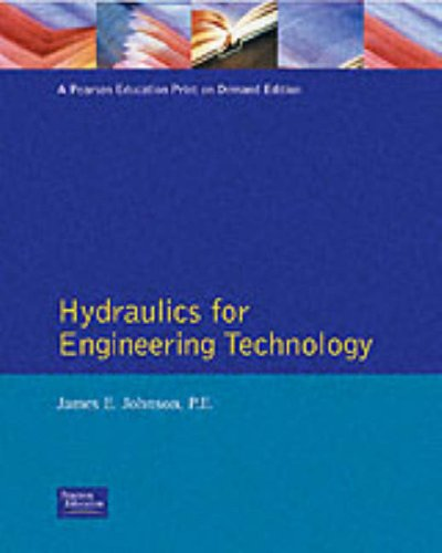 Hydraulics for Engineering Technology