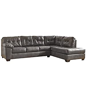 Signature design by ashley alliston sectional for Amazon sectional sofa with chaise