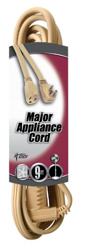 Coleman Cable 3533 9-Foot 14/3 General-Use Appliance Extension Cord