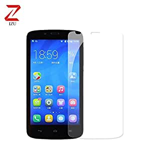 Hauwei Holly u19 Screen Protector, IZU® Pro Tempered Glass Hauwei Holly u19 Glass Screen Protector -Pack of 1 [Tempered Glass] [0.2mm] Ballistics Glass, 99% Touch-screen Accurate - Clear