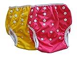 Set de 2 pañales para nadar Thee Little Imps- 1-2 años- Morado, amarillo o Rosado