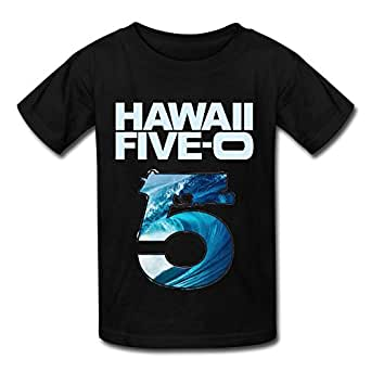 Losnger kid 39 s hawaii five 0 round collar t for Hawaii 5 0 t shirt
