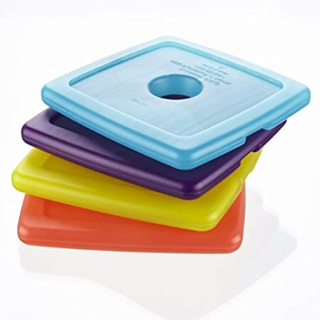 Cool Coolers Multicolored Ice (4 Pack)