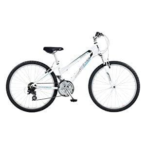 CBR Trailblazer Women's Bike - White, 26 Inch