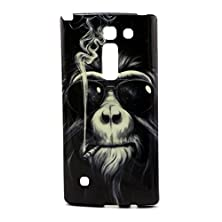 buy Evergreen Case For Lg Spirit 4G / Lg Escape 2 / Lg Logos Phone Cool Smoking Monkey Premium Tpu Gel Case Silicone Skin Cover With Free Screen Protector & Dustproof Plug