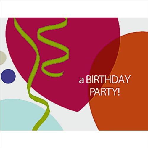 Birthday Celebration Invitations - 8 Count - 1