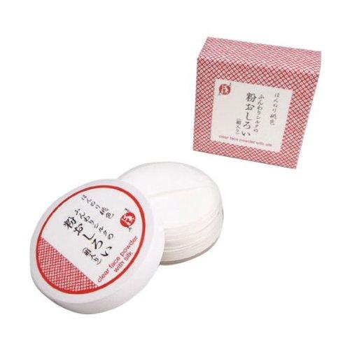 まかないこすめ ほんのり桃色 ふんわりシルクの粉おしろい(絹入り)
