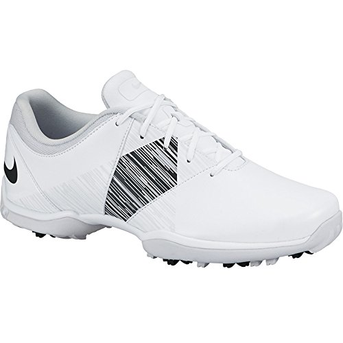 Nike Women's Delight V Golf Shoes (Medium) (7 M US, White/Black/Pure Platinum)