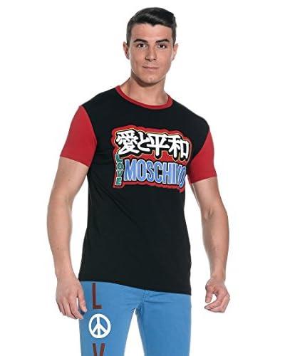Love Moschino T-Shirt Manica Corta [Nero]