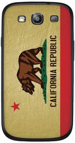 Cellet Vintage Ca Flag Skin For Samsung Galaxy S3 - Beige