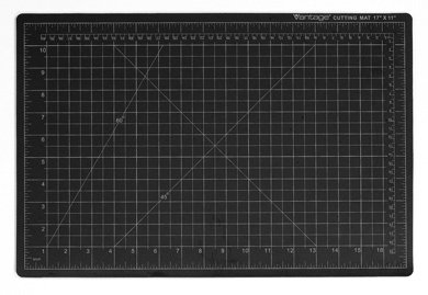Dahle 36 X 48 Vantage Self Healing Cutting Mat Black 10674