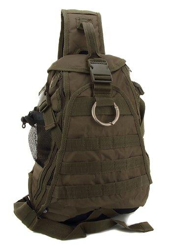 Everest BB019 Hydration Military Army Style Backpack Backpacks Shoulder Sling One Strap Bag Bags Olive Color