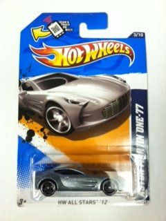 Hot Wheels Aston Martin One-77 3/10