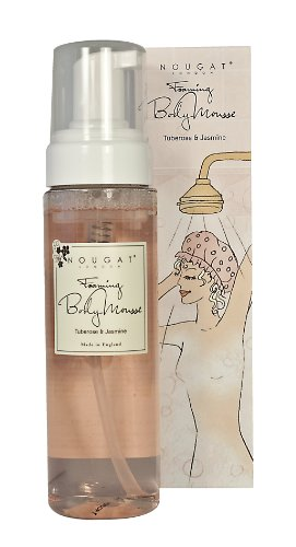 Nougat  Foaming Body Mousse, Tuberose and Jasmine,