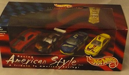 Racing American Style 4 Newly Tooled 1999 First Edition Cars