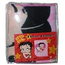 "Betty Boop w/ Dogi 50"" x 60"" Fleece Blanket"