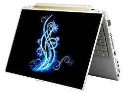 Bundle Monster Laptop Notebook Skin Sticker Cover Art Decal - 12 14 15 - Fit HP Dell Asus Compaq - Glow